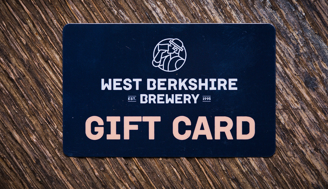 West Berkshire Brewery Gift Card